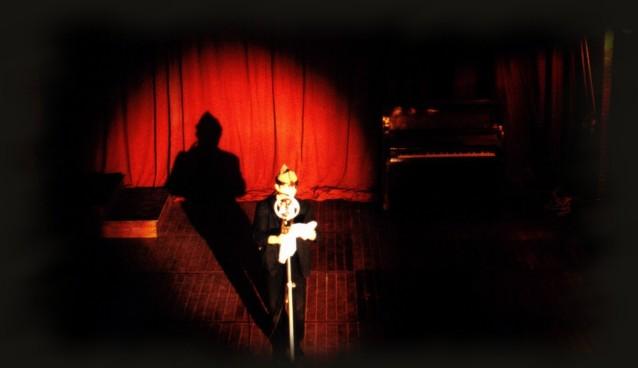 Josean de Miguel sobre el escenario en 'Ay, Carmela!'