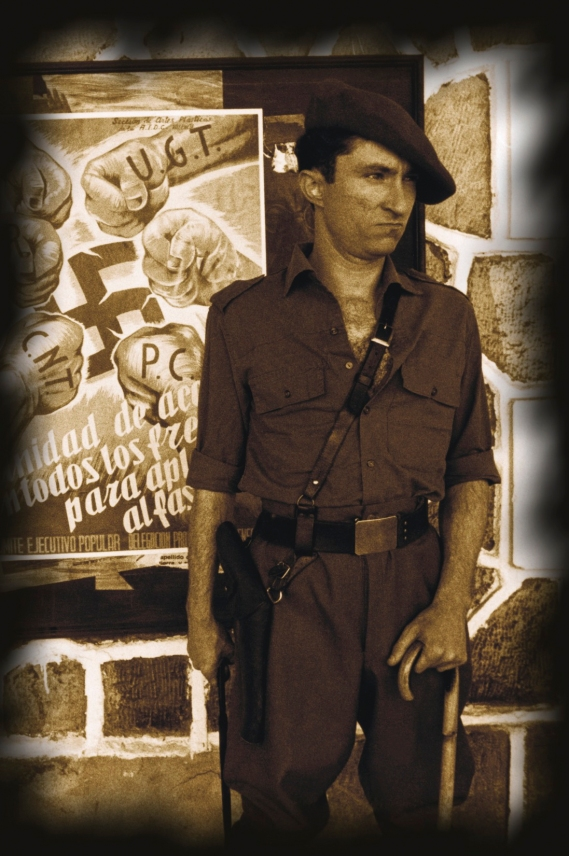 Josean de Miguel como Benito en 'Alsasua 1936 Altsasu'