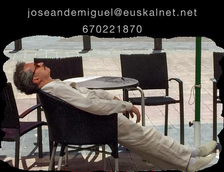 enlace a la dirección de correo electrónico de Josean de Miguel